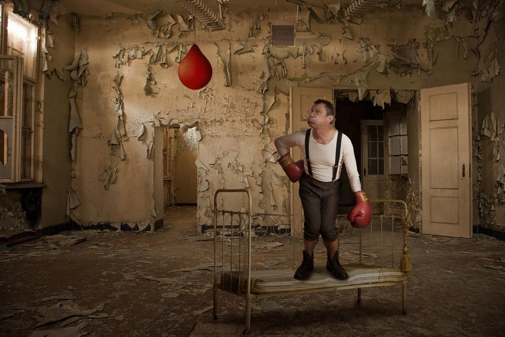 Fotokonst The little boxer II