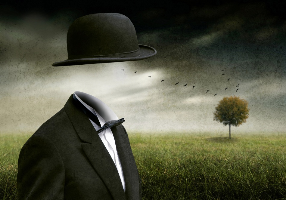 "Ben Goossens: Exhibition ""Surreal Photomontages"" on the belgian coast"