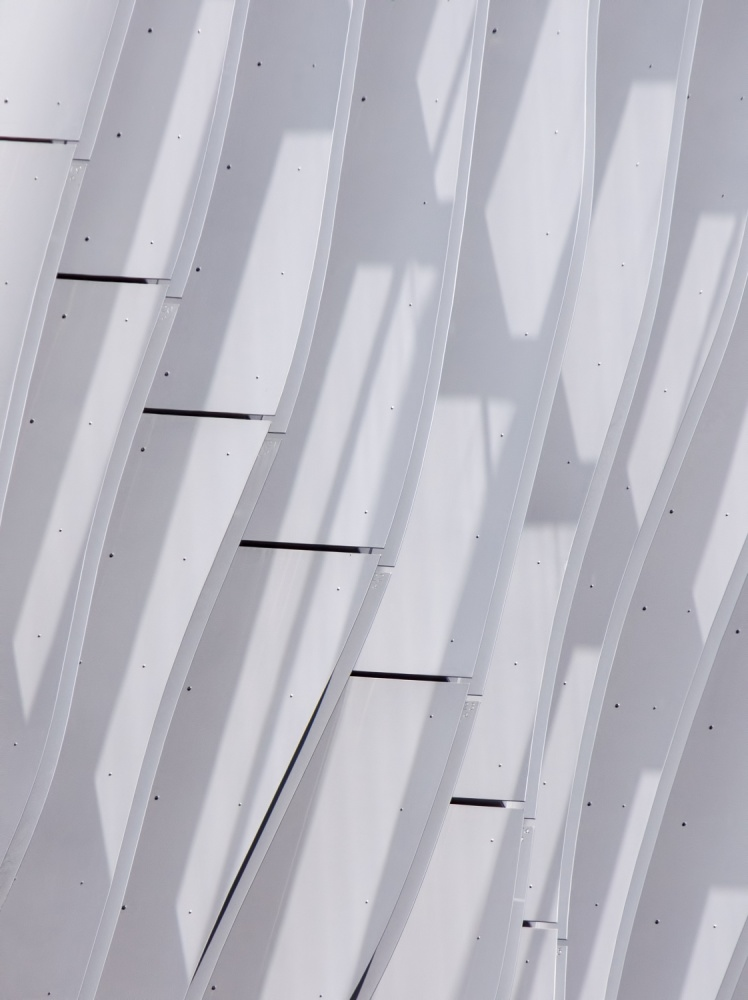Poster Abstract in White