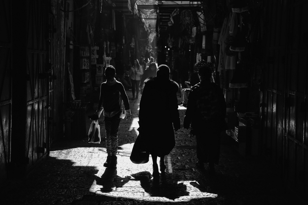 Fotokonst Light and darkness