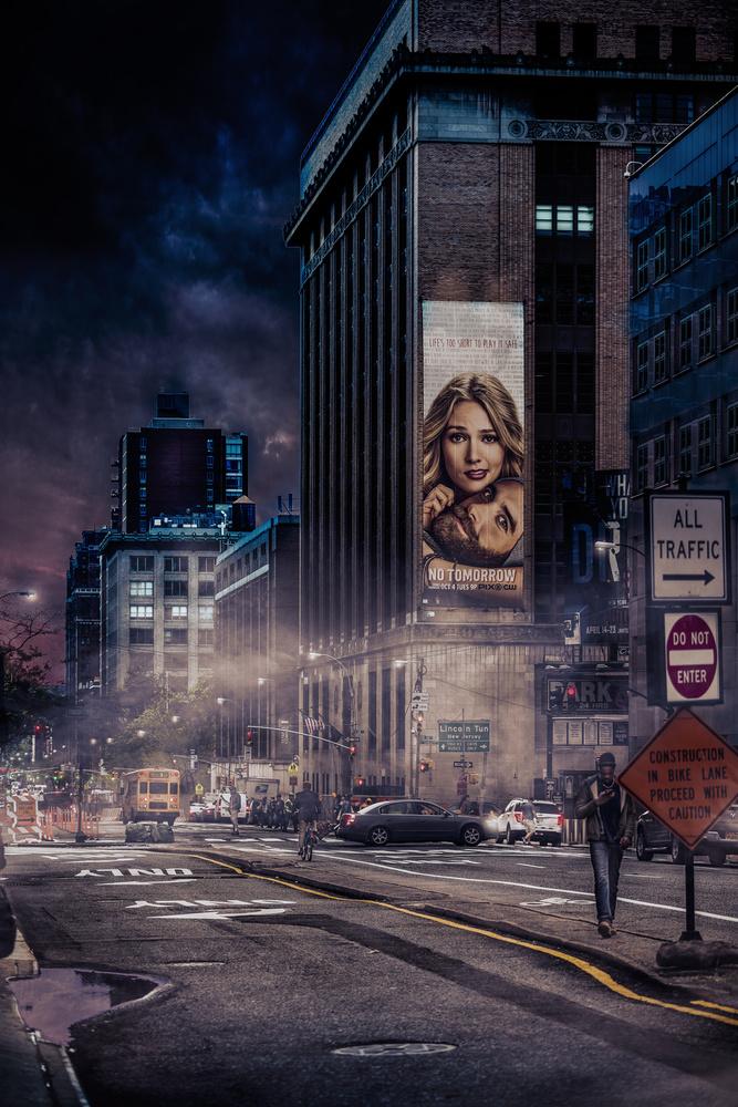 Fotokonst Back to Gotham