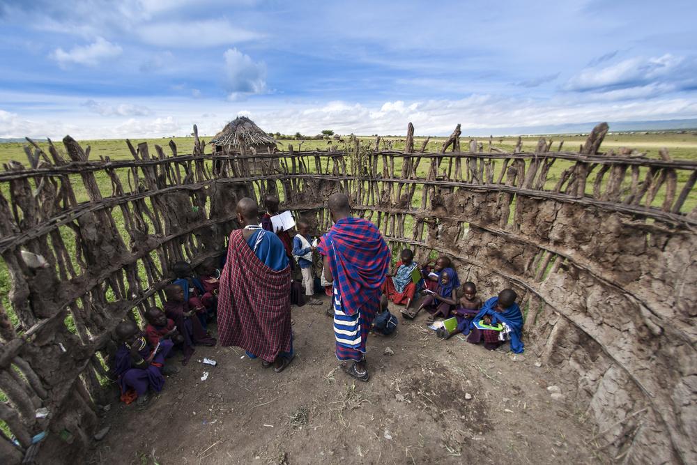 Poster Maasai people