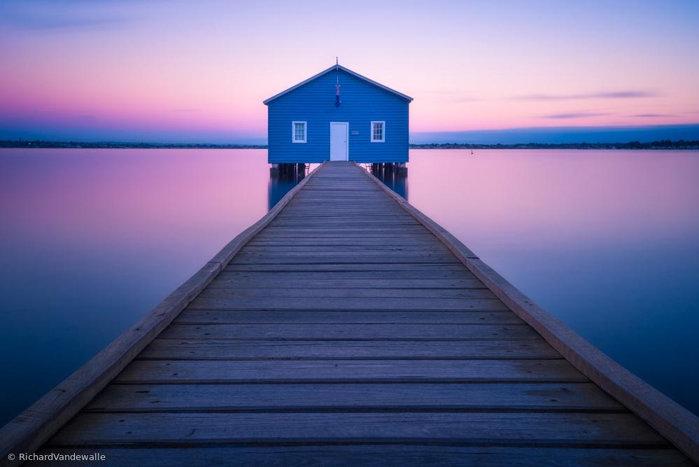 Fotokonst Boathouse