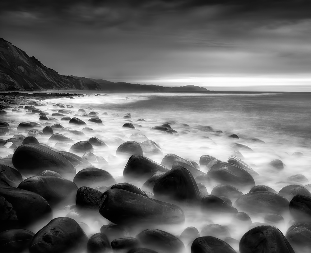 Fotokonst Sea rocks