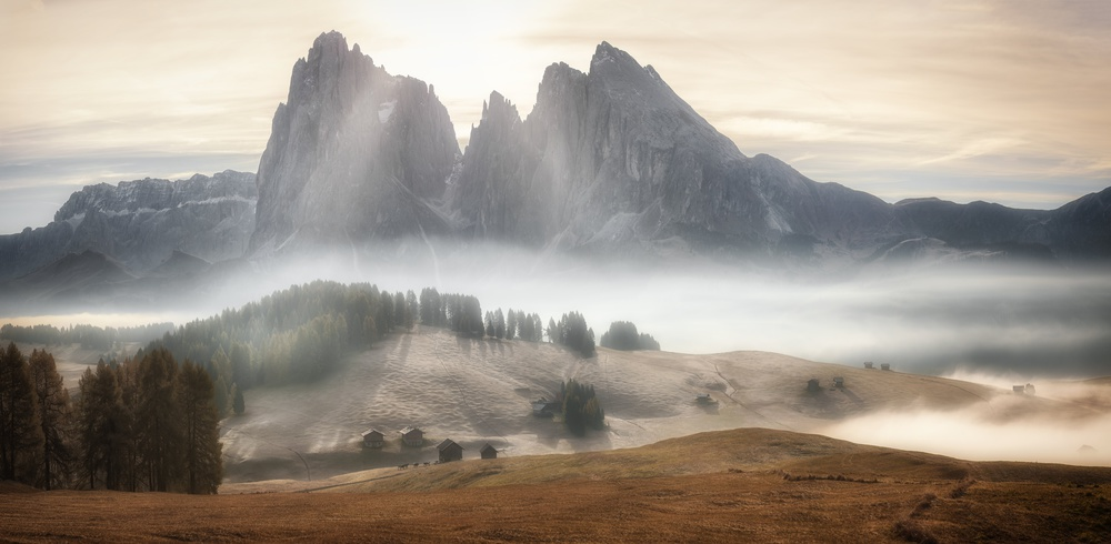 Poster Misty Mountains