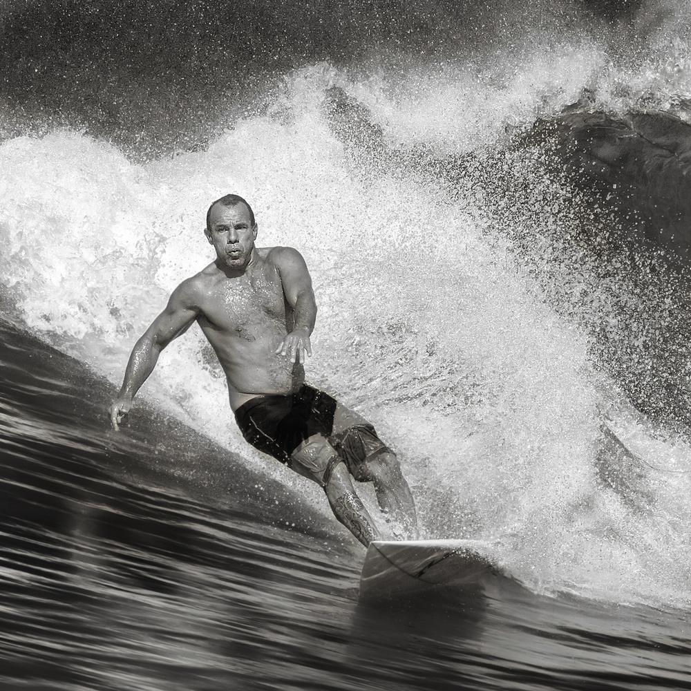 Fotokonst Surf