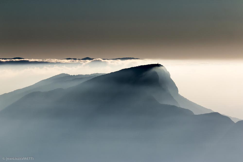 Fotokonst Voile Alpin