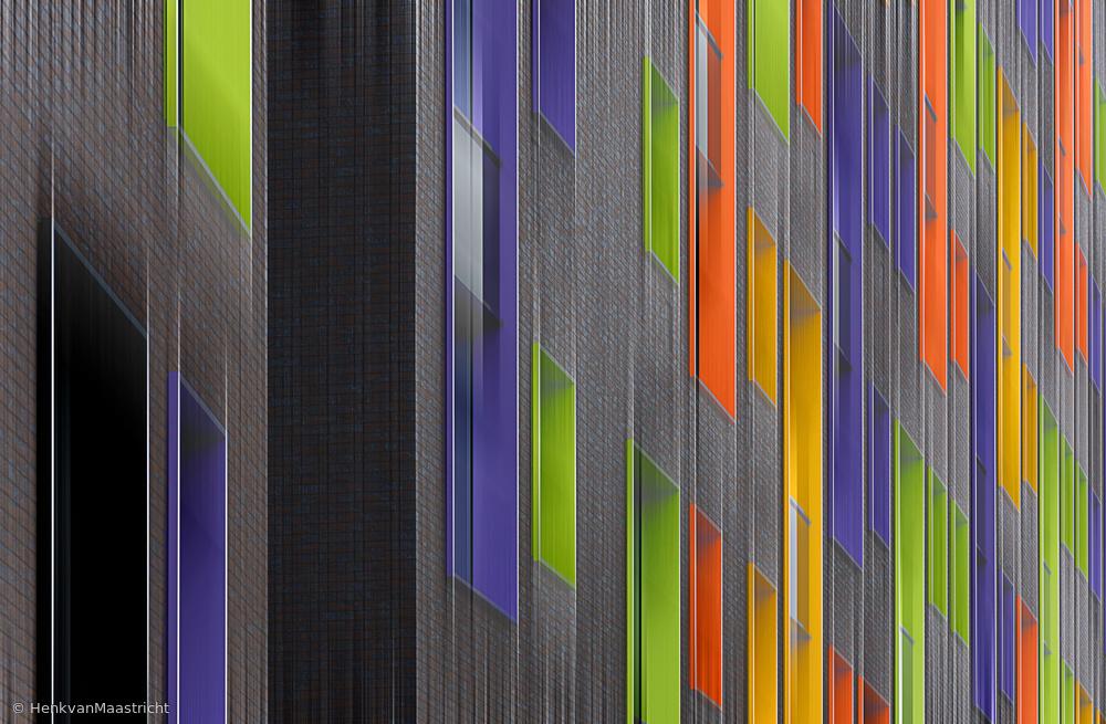 Fotokonst Facade abstract