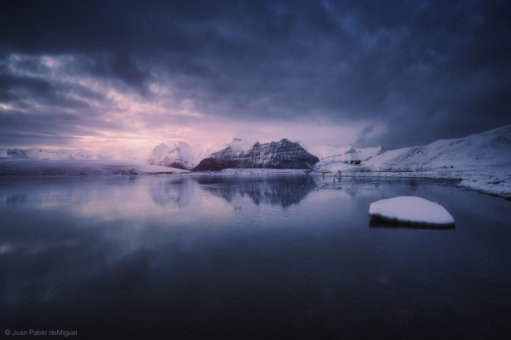 Fotokonst Quiet frost light II