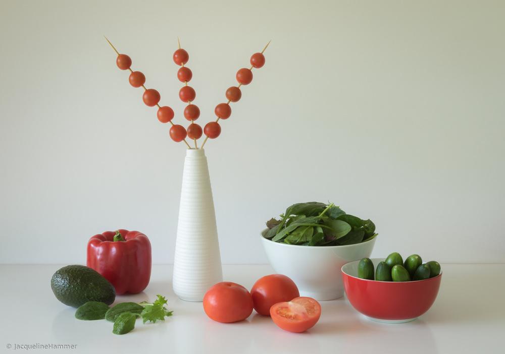 Fotokonst Salad Time