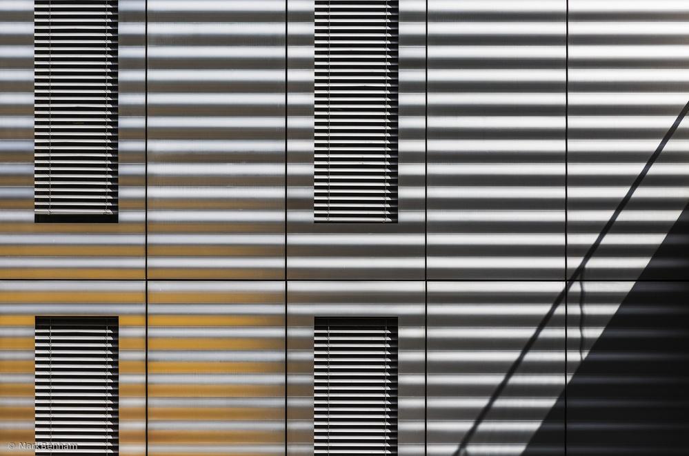 Fotokonst Linear Metallic