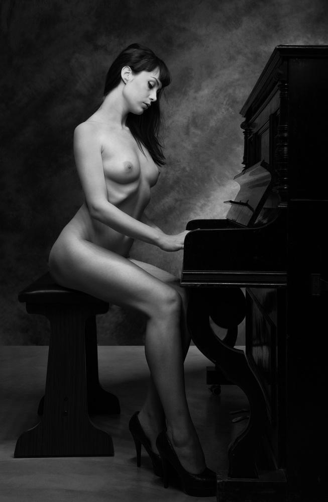 Fotokonst The Piano II