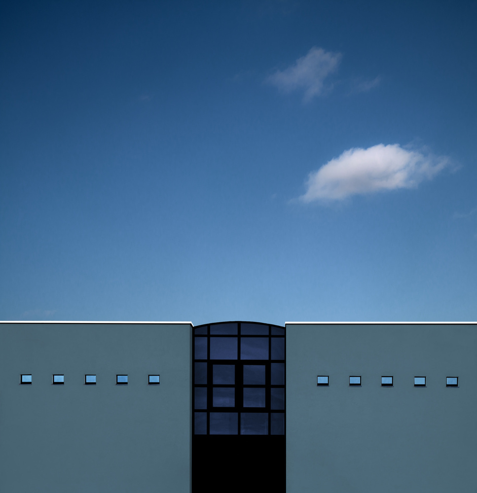 Poster ten small windows
