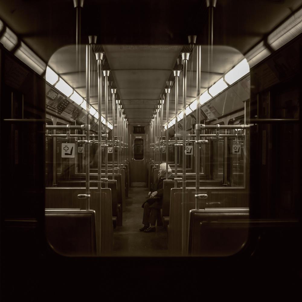 Poster Munich subway