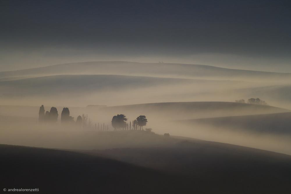 Fotokonst magic light of dawn