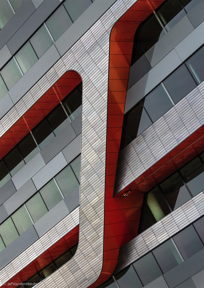 Fotokonst The red crossing