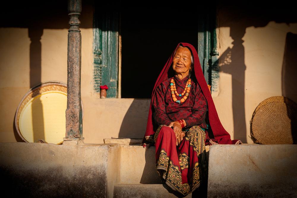 Fotokonst Raj Kumari Gurung