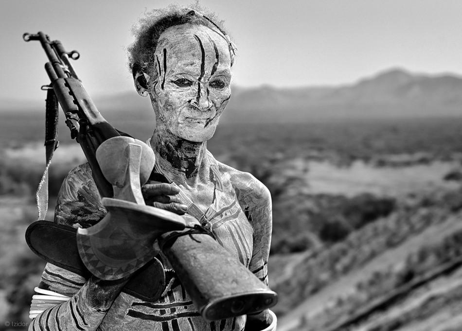Fotokonst Old Warrior