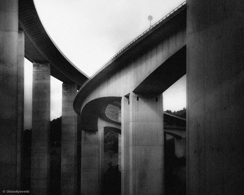 Fotokonst UNDER THE BRIDGES