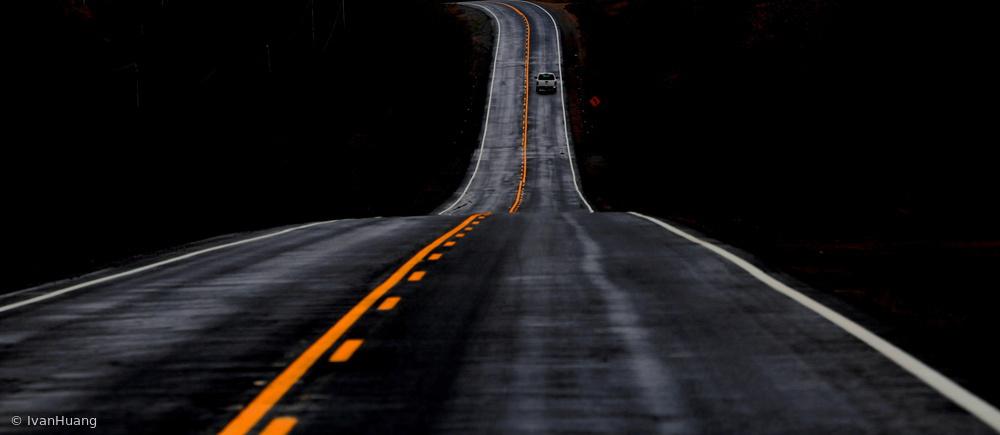 Fotokonst Road