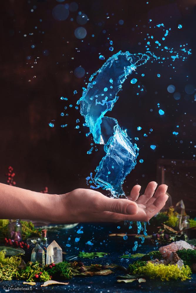 Fotokonst Charm of Clear Water