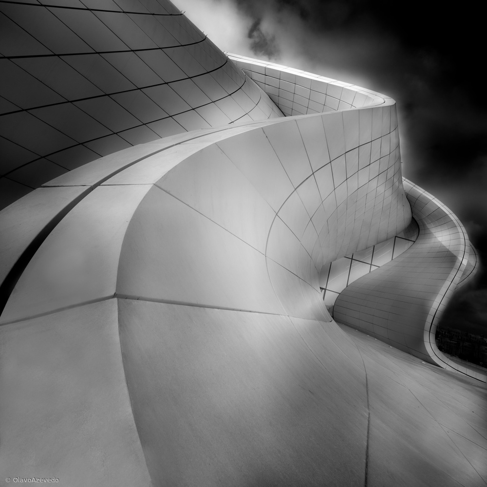 Fotokonst CURVES