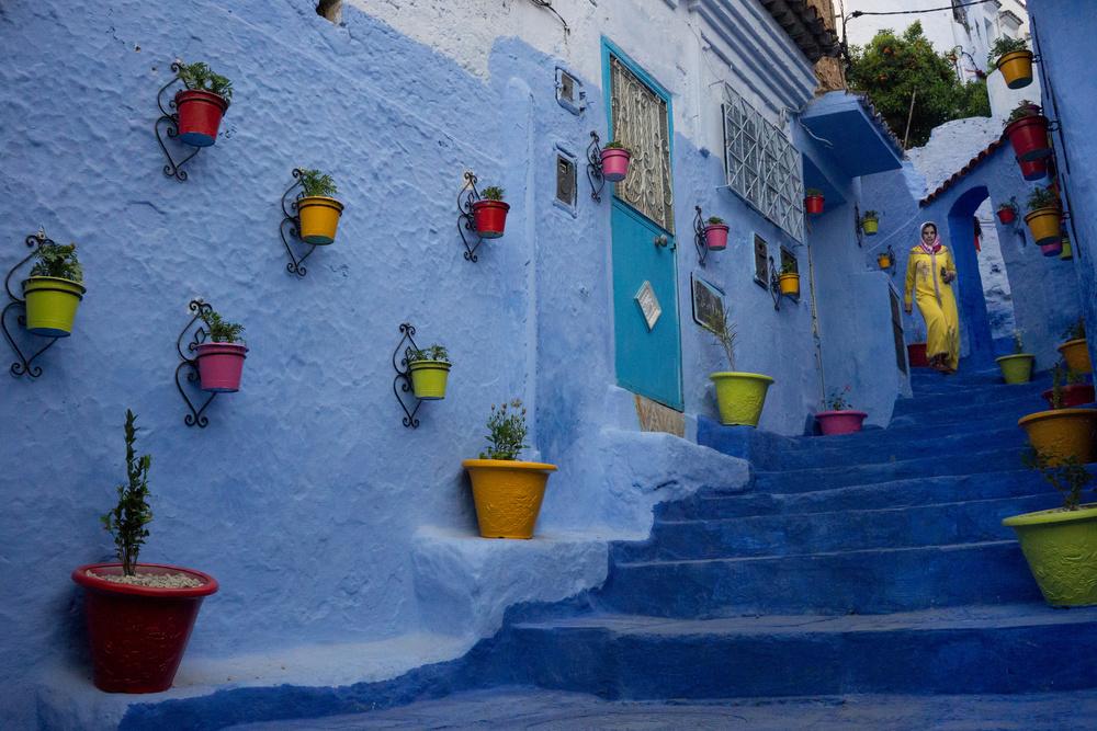 color in Morocco