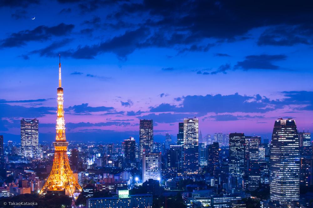 Fotokonst Tokyo night view