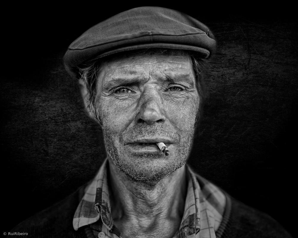 Fotokonst A face! A life story! #4