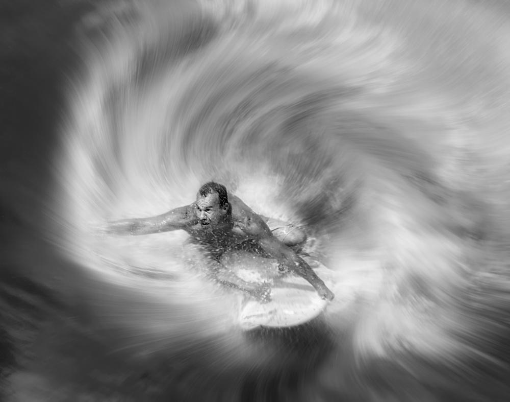 Fotokonst out of wave