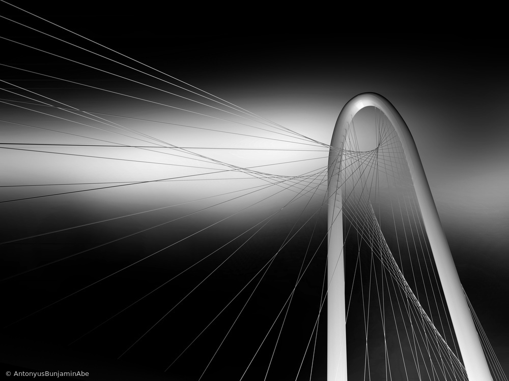 Fotokonst String Bridge
