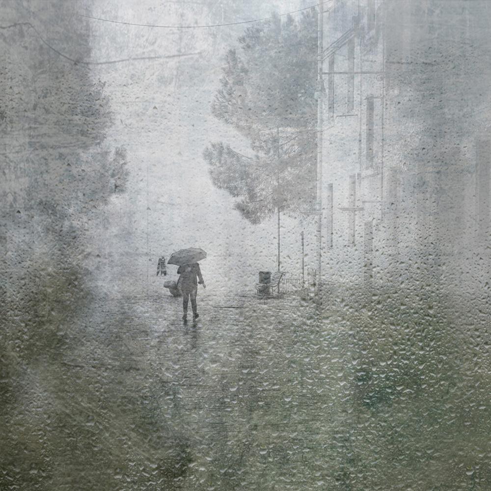 Fotokonst its raining