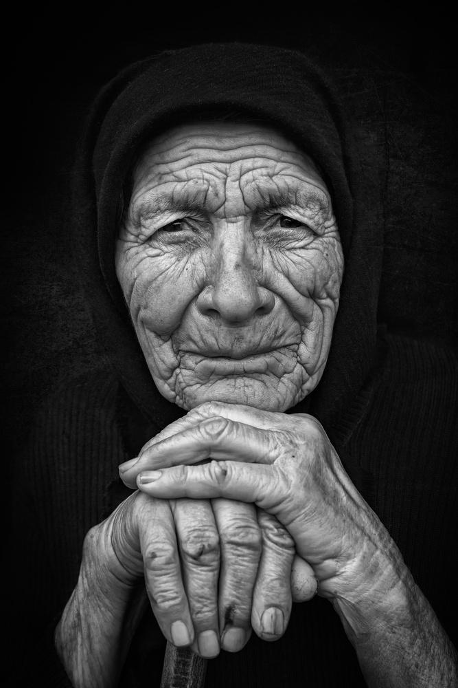 Fotokonst Old Woman 3