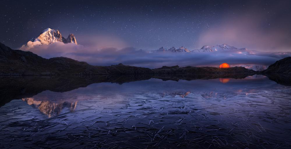 Fotokonst Lac des Cheserys