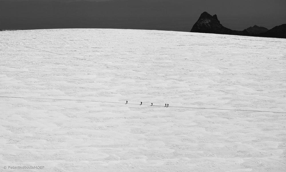 Fotokonst Heading to the frozen land