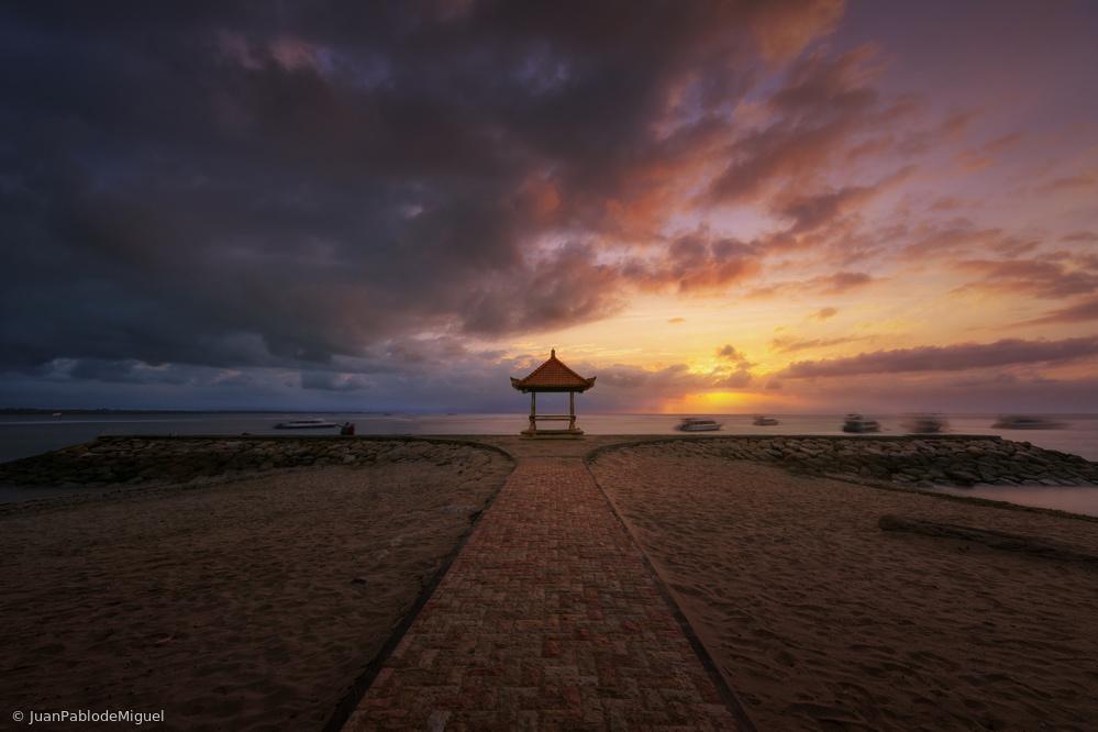 Fotokonst Sanur beach