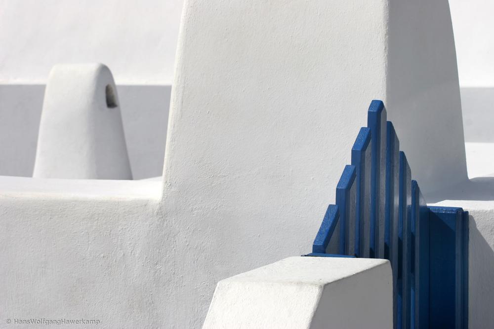 Fotokonst Blue Gate