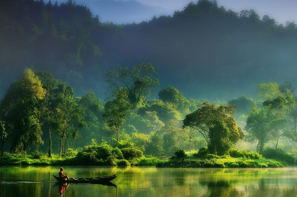 Fotokonst Painting of  Nature