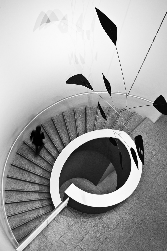 Fotokonst stairs