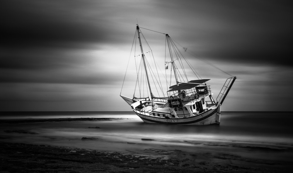Fotokonst Shipwreck