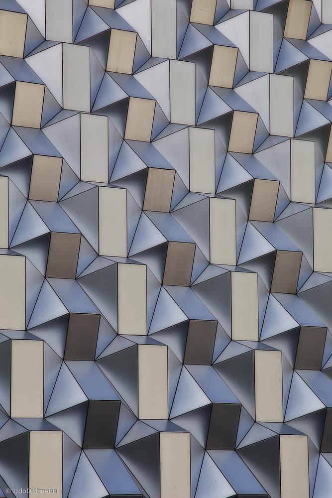 Fotokonst metal shapes