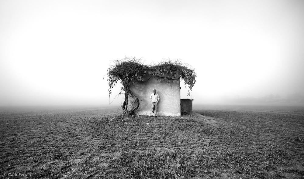 Fotokonst Small houses