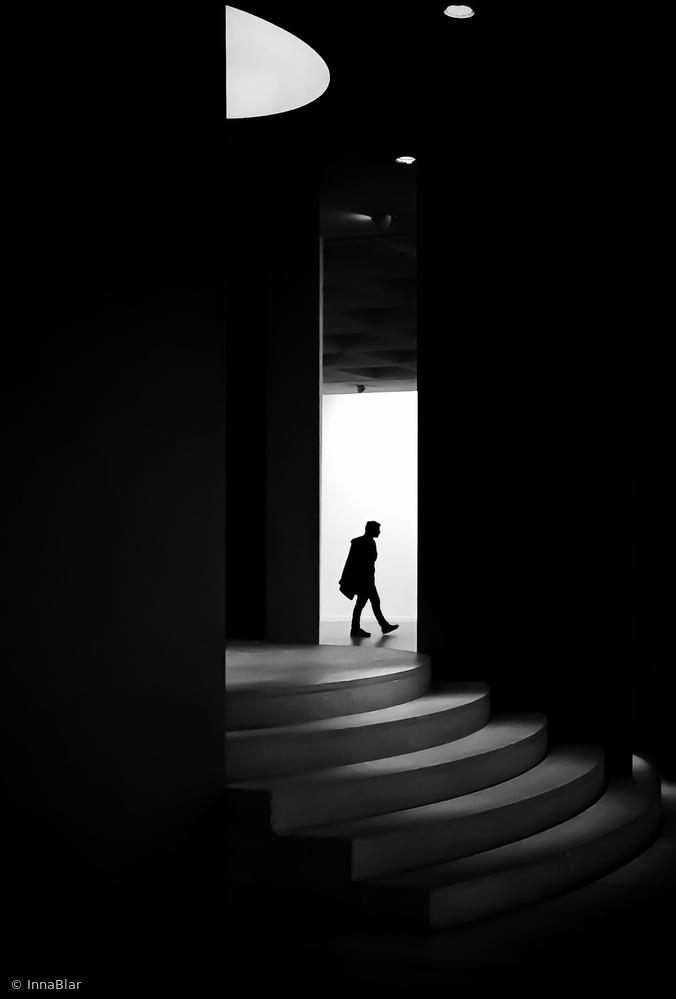 Fotokonst Beyond the stairs