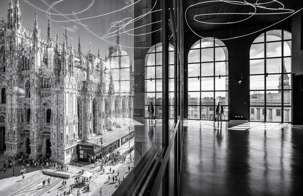 Fotokonst Novecentos reflections