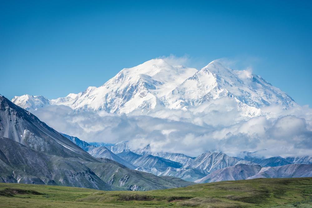 Fotokonst Mt. Denali - Alaska 20,310