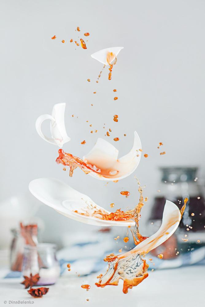 Fotokonst Broken cup