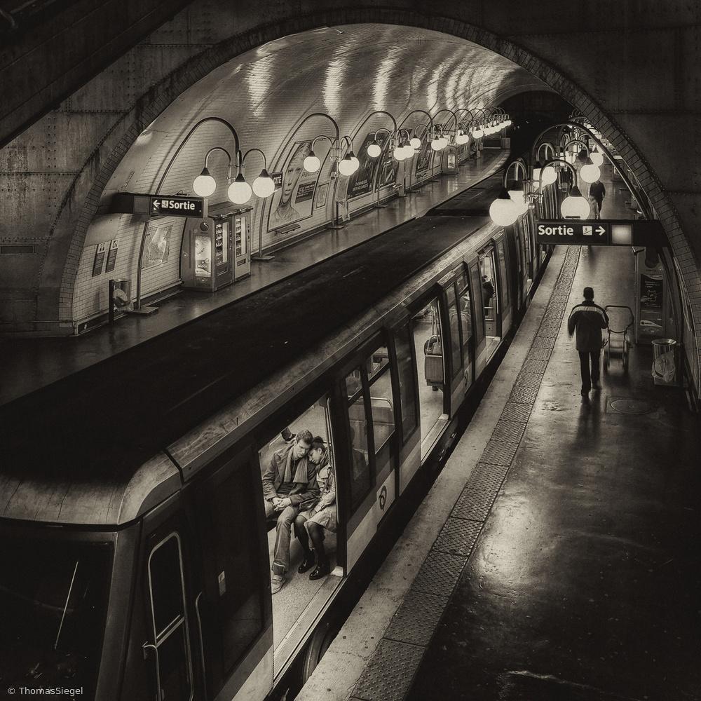 Fotokonst The last metro