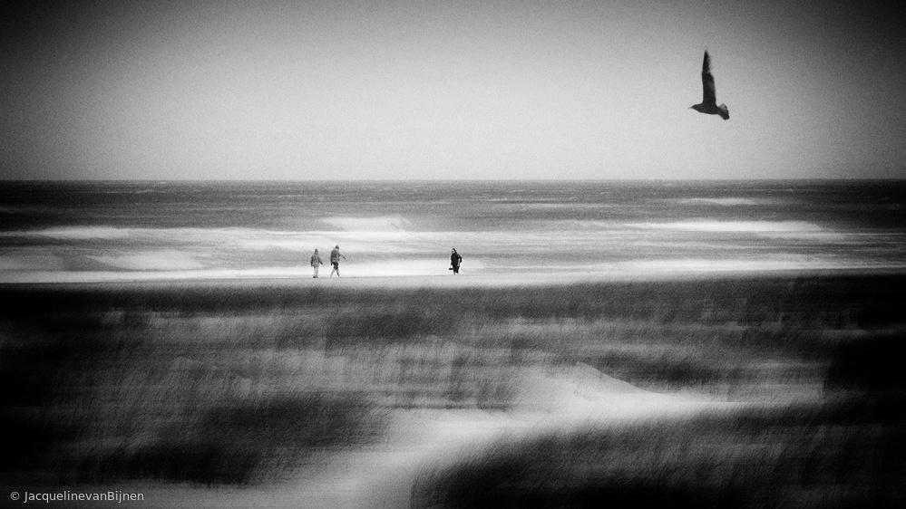Fotokonst Storm at sea