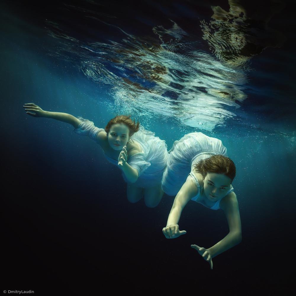 Fotokonst Sea nymphs