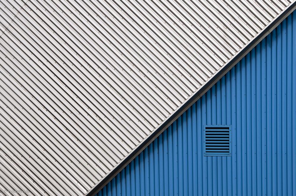 Fotokonst In the blue corner